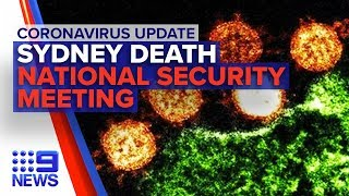 Coronavirus: Australia's second death, new travel bans considered | Nine News Australia