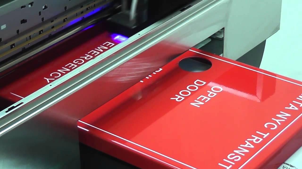 Neon UV LED Printer