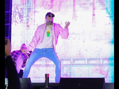 Chris Brown, Wizkid and Ali Kiba Performance at Mombasa Golf Club