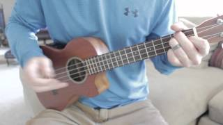 Learn to play Forest by Twenty One Pilots on Uke in 5 minutes!