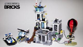 Lego City 60130 Prison Island Speed Build