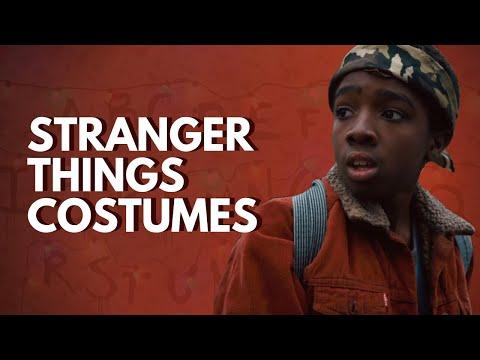 The Costumes of Stranger Things (Steve, Nancy, Eleven, Lucas, Barb, Joyce)
