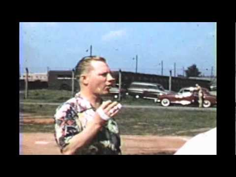 Armed Forces Radio Frankfurt Germany 1956