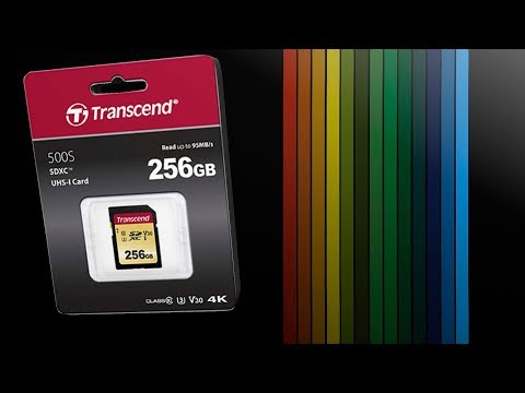 Transcend SDXC 500S 256GB