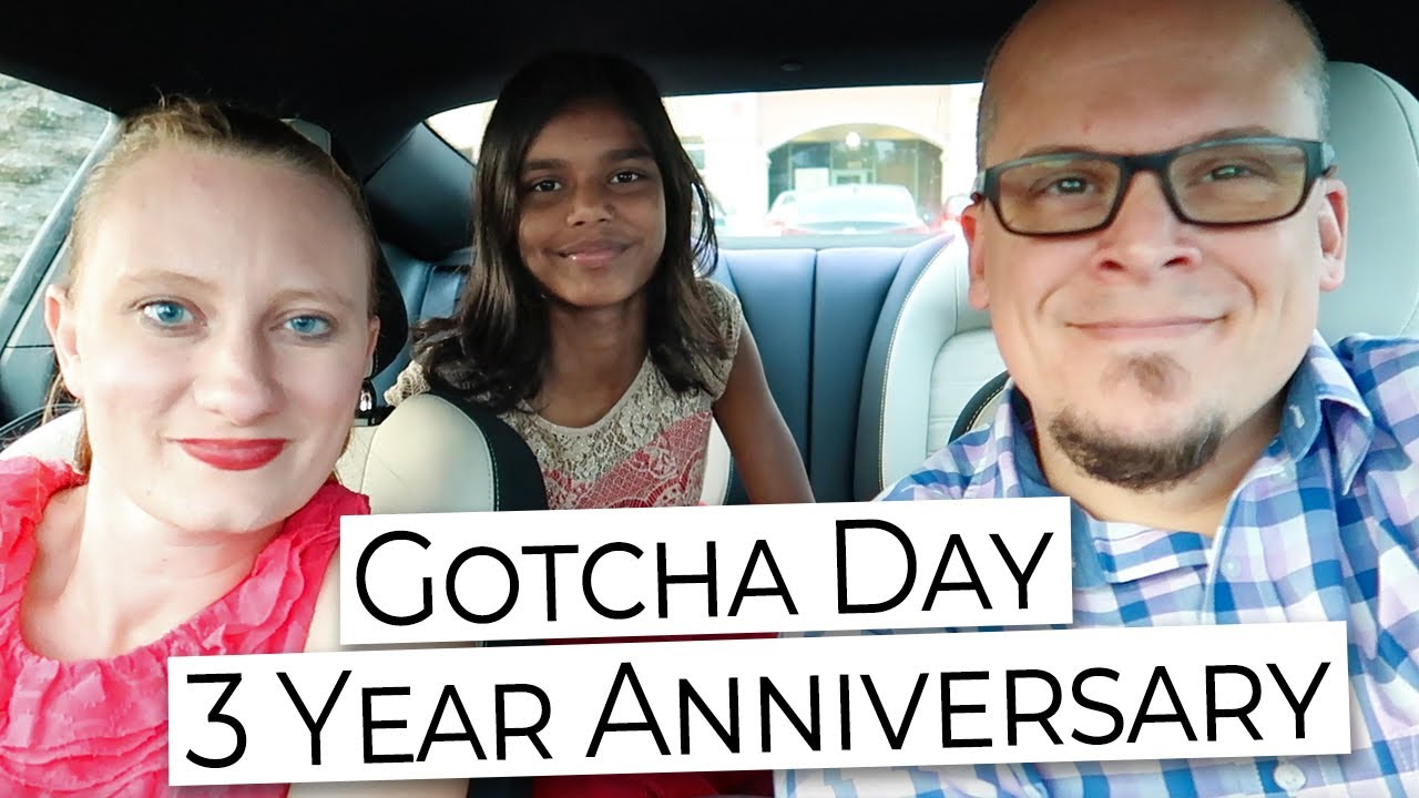 Gotcha Day 3 Year Anniversary (India Adoption Day) Night Out with Our Baby Girl!
