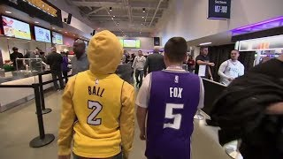 Lonzo Ball-De'Aaron Fox rivalry continues   ESPN