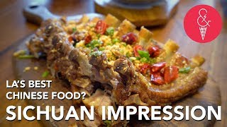 QUICK LOOK: Sichuan Impression, The Best Chinese Food in LA?!?!
