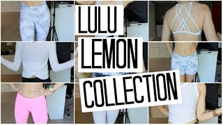 TRY ON Lulu Lemon Collection | Best Workout Clothes & Outfits