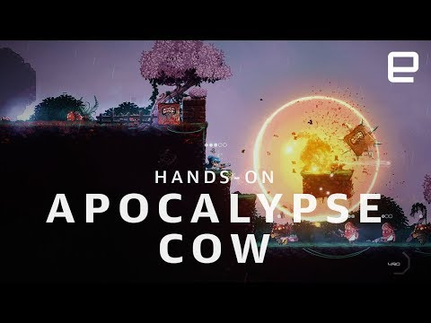 Apocalypse Cow hands-on at GDC 2018