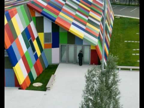 Salle Des Fetes Montataire Charpin Et Perron Architectes Youtube