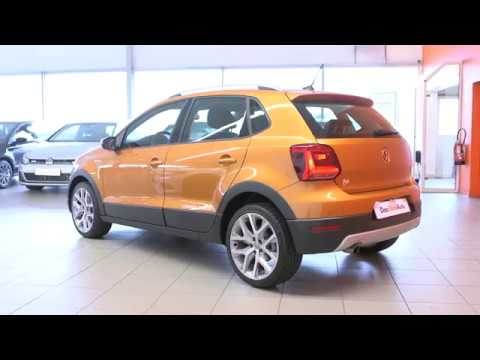 volkswagen cross polo occasion 1 2 tsi 90 bluemotion technology cross polo orange m tal youtube. Black Bedroom Furniture Sets. Home Design Ideas