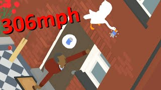Using Glitches and Tricks to Fly in Goose Game