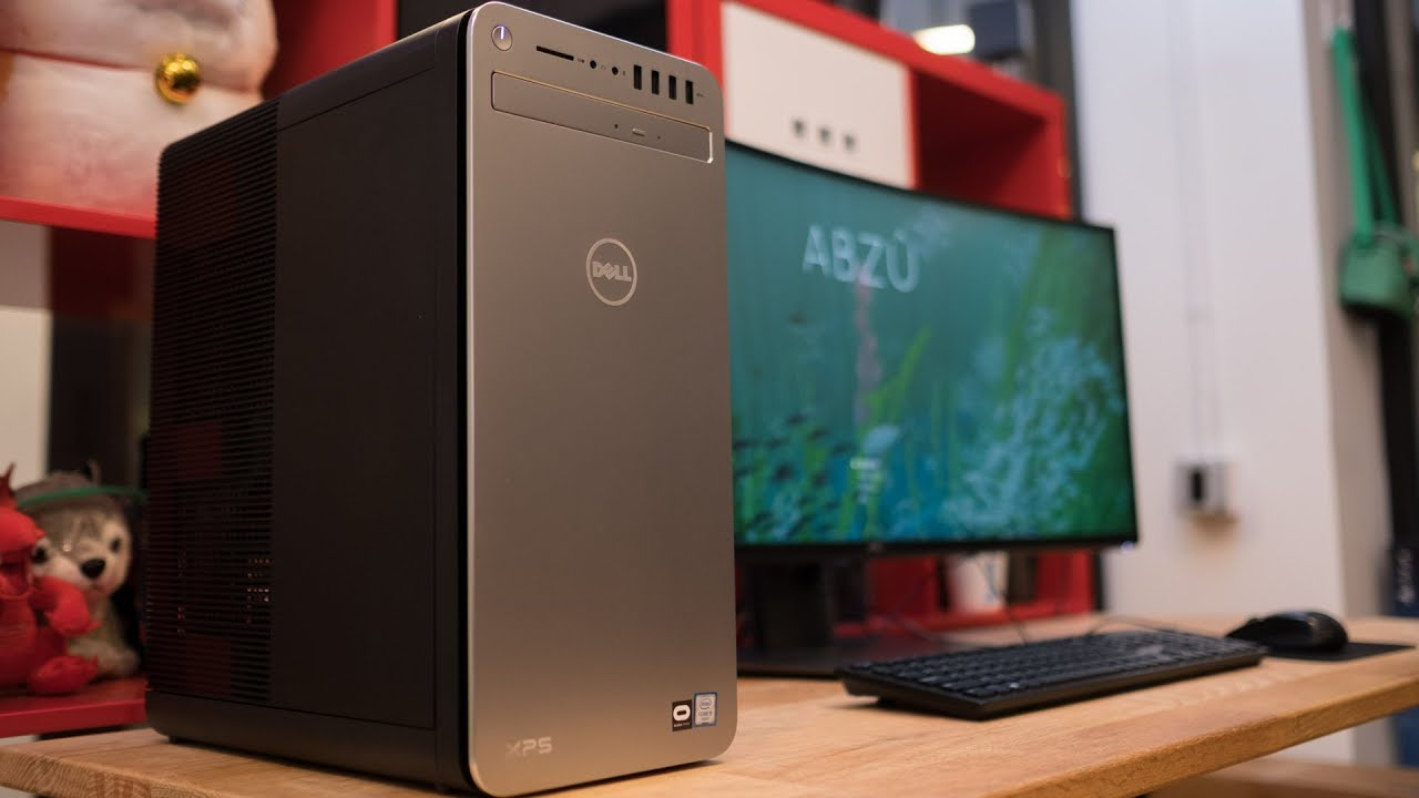 Dell XPS 8910 Gaming Desktop Review - YouTube