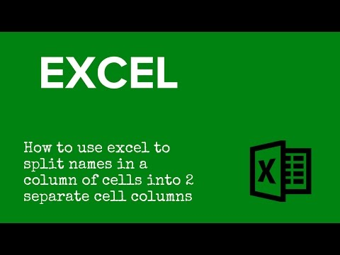 Split A Cell In Excel