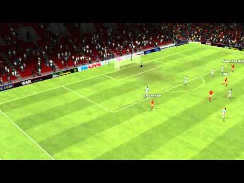 Benfica vs Man City - Golaço de Alan Kardec