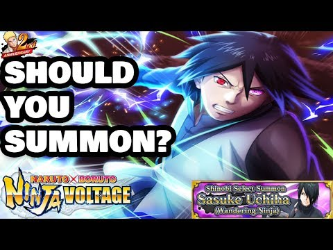 Wandering Ninja Sasuke Uchiha Should You Summon? | Naruto X Boruto Ninja Voltage