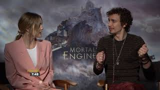 Mortal Engine Junket: Robert Sheenah + Leila George