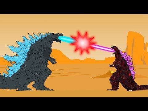 Godzilla Earth Vs Shin Godzilla - Godzilla | Godzilla Cartoons