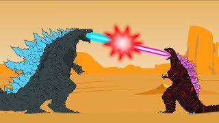 Godzilla Earth vs Shin Godzilla - godzilla | godzilla dibujos Animados