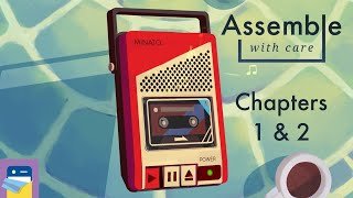 Assemble with Care: Chapters 1 & 2 Walkthrough Guide & Apple Arcade iPad Gameplay (by ustwo games)