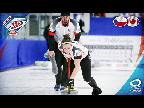 Czech Republic v Canada - Round-robin - World Mixed Doubles Curling Championship 2017