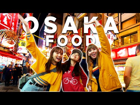 Ranking The MOST POPULAR Foods In OSAKA | Food Ranks