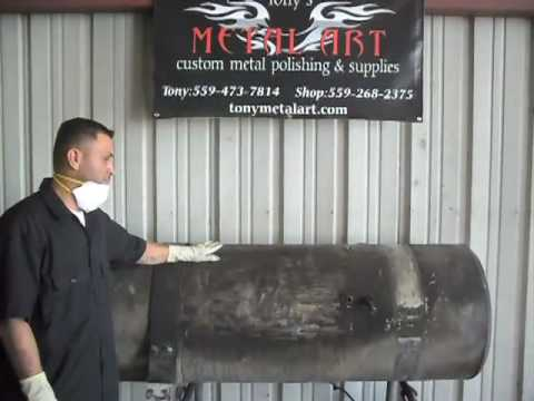 DIY How to polish aluminum Tony Metal Art