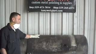 DIY How to polish aluminum Tony Metal Art