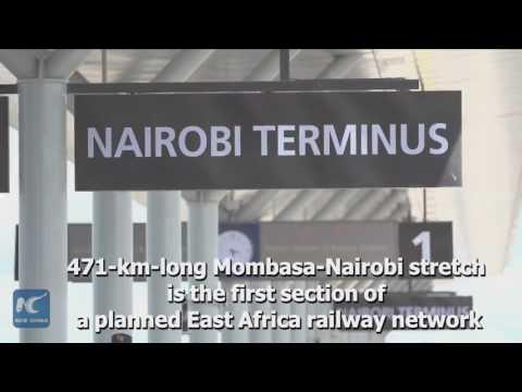 China-built Nairobi South Railway Station under trial operation
