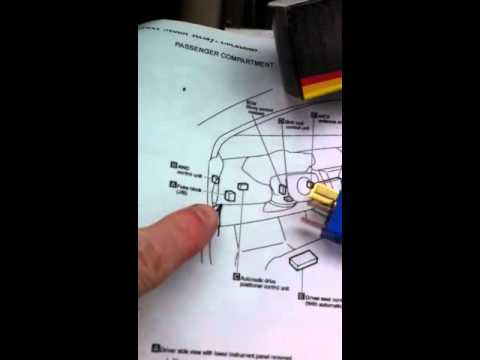 hqdefault nissan murano blower fan relay repair diy youtube nissan x trail 2003 fuse box diagram at n-0.co