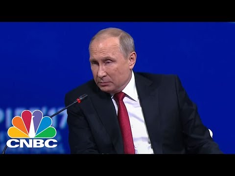 Vladimir Putin Responds To Donald Trump's Decision To Leave Paris Climate Accord | CNBC