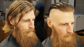 Arthur Shelby Peaky Blinders Haircut