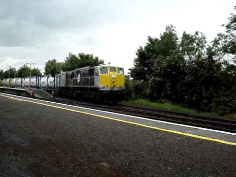 Irish Rail Freight - Diesel Power