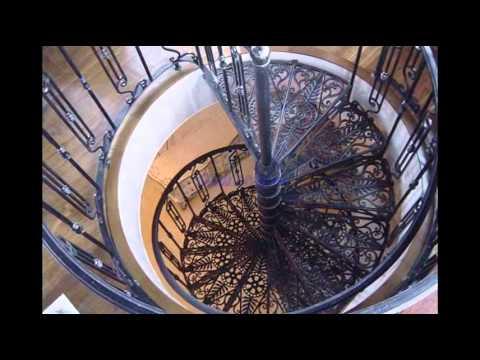 Модели кованых лестниц