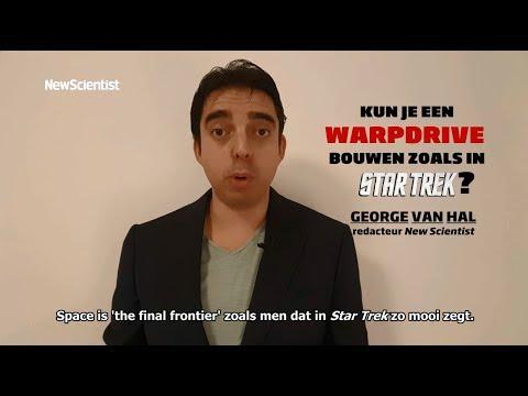 Kunnen we ooit een warpdrive bouwen zoals in Star Trek?