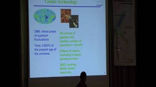 Cosmology on the Beach - Eric Linder: Lecture 1