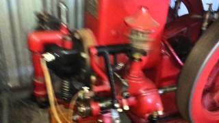 Christensen 3 hp typ C vintage hit miss gas engine