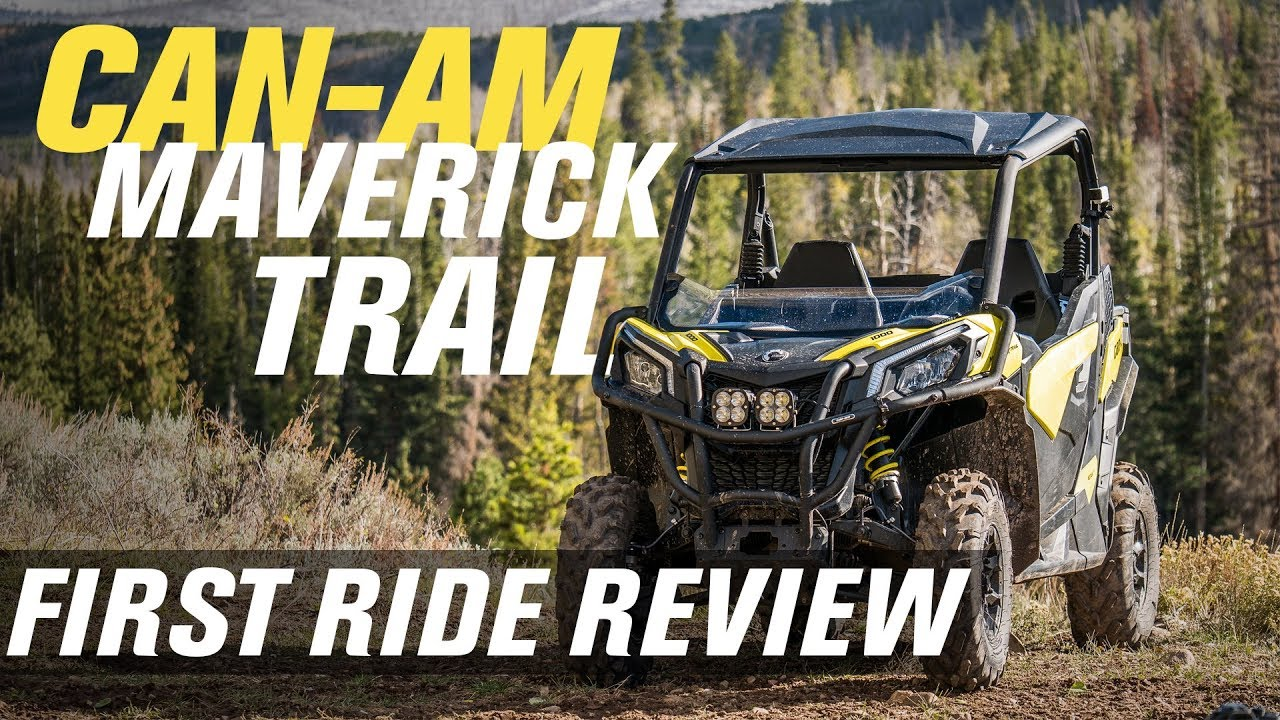 First Impressions of the All-New Can-Am Maverick Trail