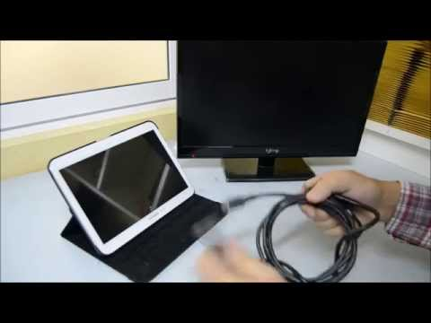 Video Conexion MHL-HDMI Samsung Galaxy Tab 3