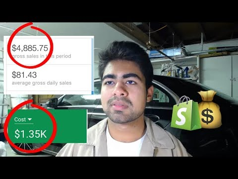 How I Took A NEW Dropshipping Store To $5K In 30 Days With Google Ads | Aliexpress Tutorial thumbnail