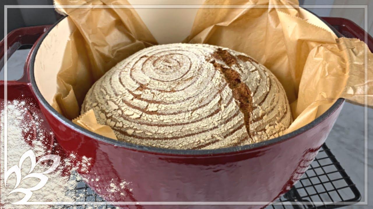 Brot Im Topf backen mit einmaliger Soft Kruste