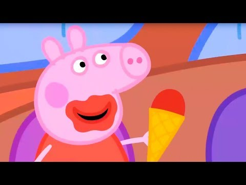 Свинка Пеппа на русском все серии подряд   Пеппа ест мороженое   Мультики
