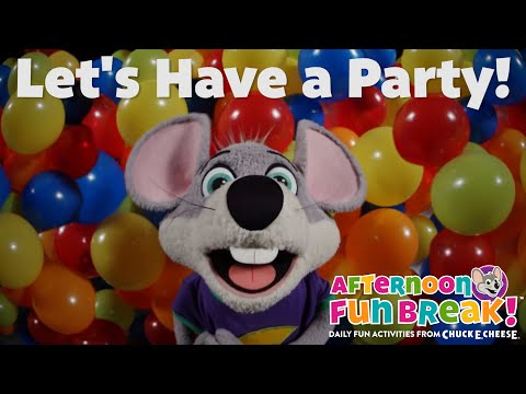 Let's Have A Party | Chuck E. Cheese Songs
