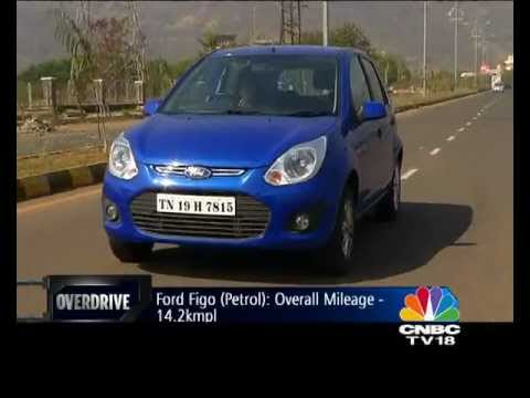 2012 Ford Figo in India road test