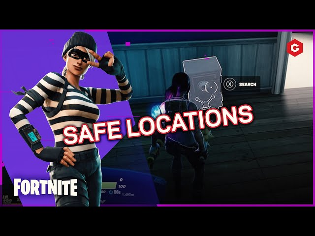 Where Are The Gold Safes In Fortnite Season 6 Fortnite Where To Find Safes In Chapter 2 Season 6