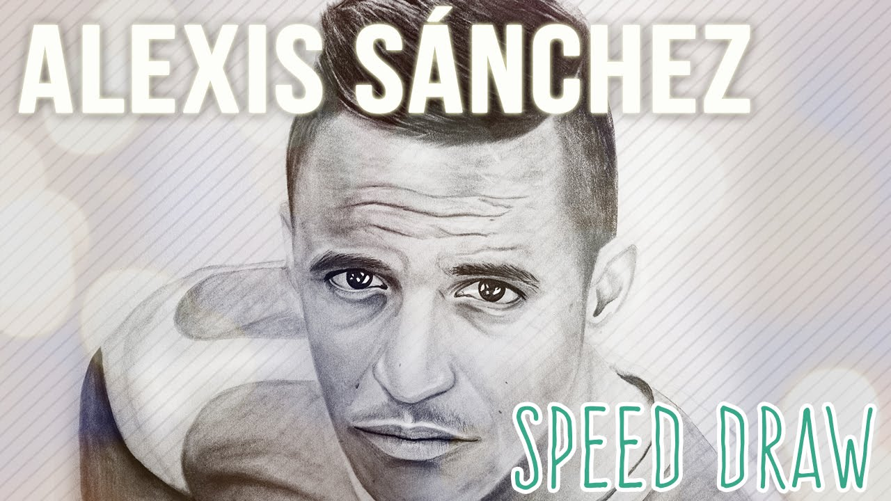 Descargar Dibujos De Alexis Sanches: Alexis Sanchez Speed Draw