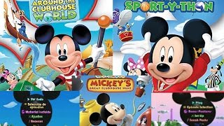 TOP 10 MICKEY MOUSE CLUBHOUSE DVD