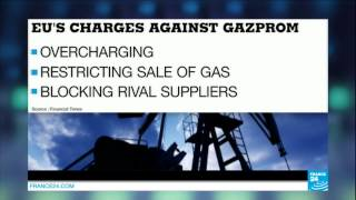 EUROPE - EU set to accuse Gazprom of exploiting powerful position in European market