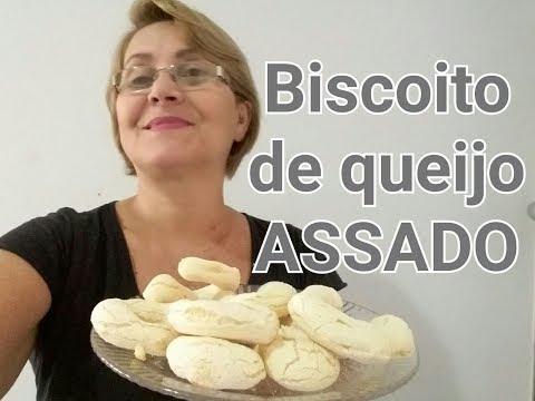 BISCOITO DE QUEIJO ASSADO RÁPIDO E FÁCIL