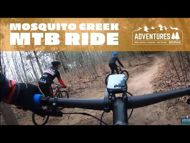 Mosquito Creek MTB Trail Muskegon Michigan
